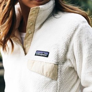 Patagonia Snap Re Tool Fleece Pullover Cream